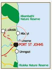 map Port St Johns
