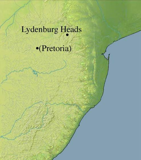 Lydenburg Heads..about 310 km from Pretoria