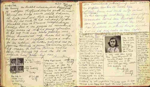 the diary of an anne frank The diary of anne frank book review on june 12, 1929, at 7:30 am, a baby girl was born in frankfort, germany no one realized that this infant, who was jewish, was destined to become one of the worlds most famous victims of world war ii.