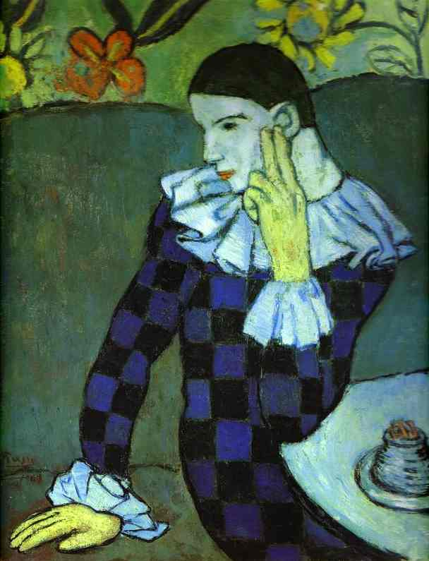 picasso blue period woman. Paintings from Picasso#39;s Blue