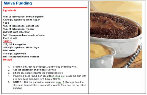 Cake Recipes In Pdf: PDF Illovo Recipes
