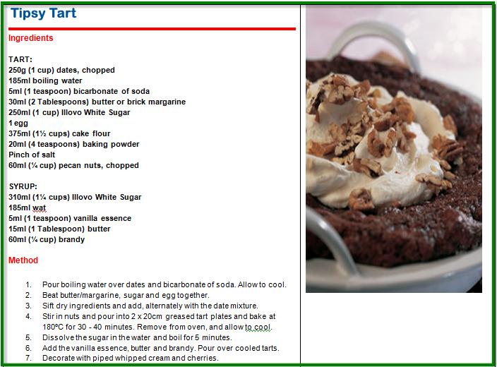 Easy Tipsy Cake Recipe