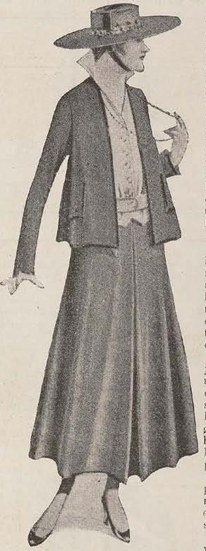 Modes van 1916/Fashion 1916