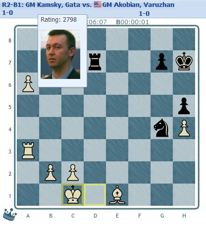Kamsky round 2 end position