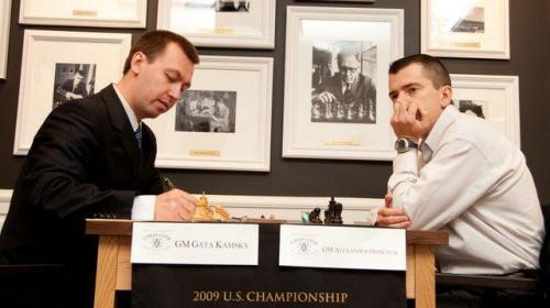 Round 8 Kamsky vs Onischuk