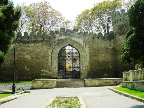 Baku Fortress gate