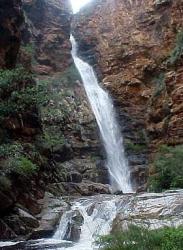 De Rust waterfall