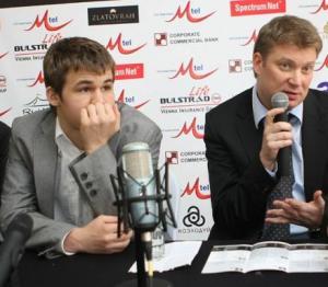 Shirov and Carlsen