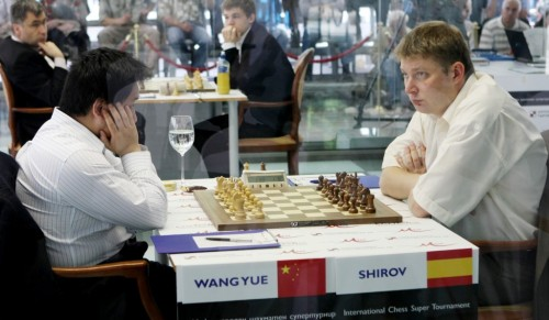 Wang vs Shirov