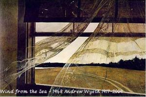 wind from the sea