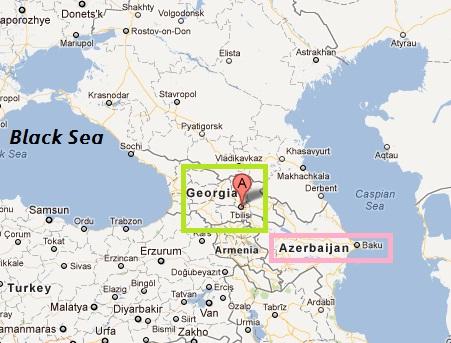 Where Is Tbilisi Georgia On World Map