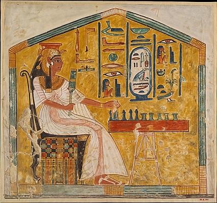 Chess_Senet-Queen-Nefertari