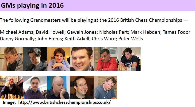 British Chess 2016