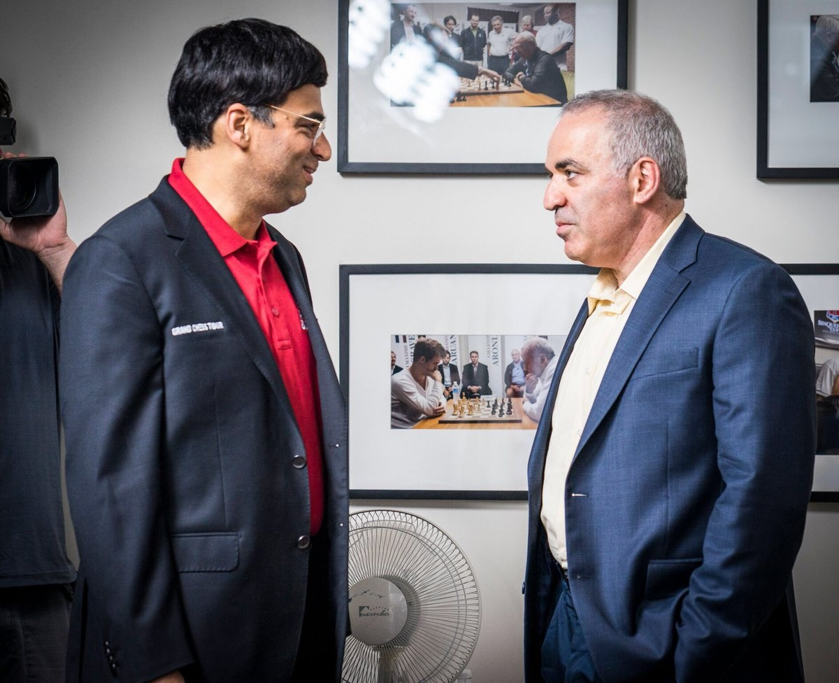 chess kasparov vs anand