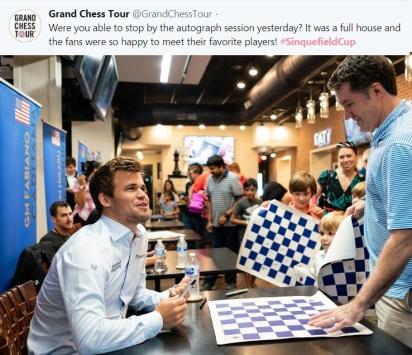Chess Sinquefieldcup 2018=5