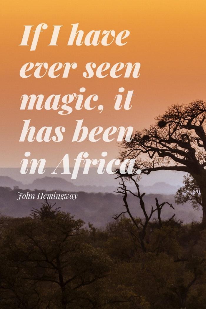 Africa quote